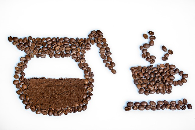 obrázek z kávy