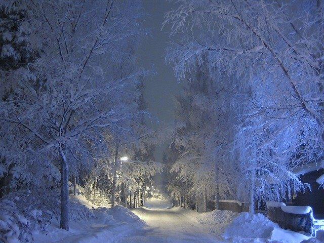 mrát v zimě