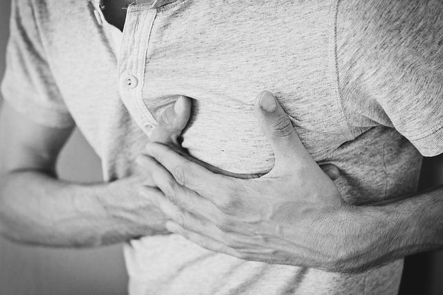bolest na srdci