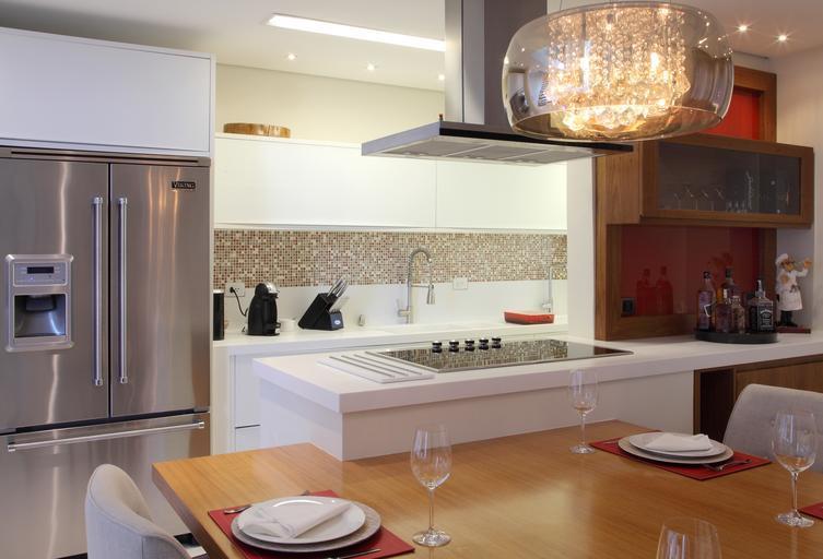 kuchyně s atypickým tvarem